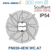 Ventilateur hélicoïde FN030-4EW.WC.A7 de Ziehl-Abegg