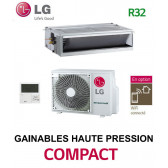 LG GAINABLE Haute pression statique COMPACT CM24F.N10 - UUB1.U20