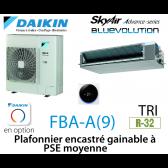 Daikin Plafonnier encastré gainable à PSE moyenne Advance FBA125A triphasé