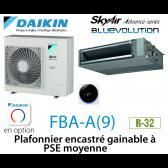 Daikin Plafonnier encastré gainable à PSE moyenne Advance FBA71A9