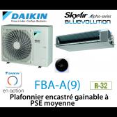 Daikin Plafonnier encastré gainable à PSE moyenne Alpha FBA125A monophasé