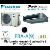Daikin Plafonnier encastré gainable à PSE moyenne Alpha FBA60A9