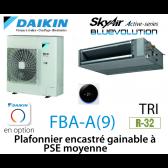 Daikin Plafonnier encastré gainable à PSE moyenne Active FBA140A triphasé