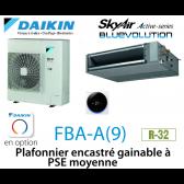Daikin Plafonnier encastré gainable à PSE moyenne Active FBA100A monophasé