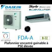 Daikin Plafonnier encastré gainable à PSE élevée Advance FDA125A monophasé
