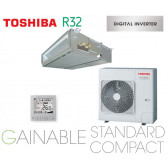 Toshiba Gainable BTP standard compact Digital inverter RAV-RM1101BTP-E monophasé