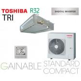 Toshiba Gainable BTP standard compact Digital inverter RAV-RM1101BTP-E triphasé
