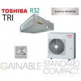 Toshiba Gainable BTP standard compact Digital inverter RAV-RM1401BTP-E triphasé