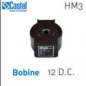Bobine d'électrovannes HM3 - 9120/RD1 - Castel
