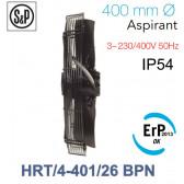 Ventilateur axial de roteur externe HRT/4-401/26 BPN de S&P