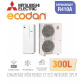 Ecodan duo 16 réversible 300L ERST30C-VM2ED + PUHZ-SW120VHA
