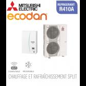 Ecodan 16 réversible ERSC-VM2D + PUHZ-SW120VHA