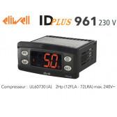 Contrôleur électronique Eliwell IDPLUS 961 230V avec une sonde NTC