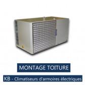 Climatiseurs d'armoires électriques KB 10 CAI - MONTAGE TOITURE