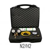 K-Leak - Kit pressurisation N2 / H2 pour systèmes de réfrigération et de climatisation