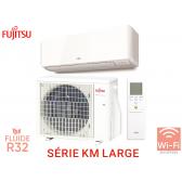 Fujitsu Série KM LARGE ASYG 24 KMTA