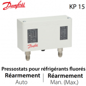Pressostat double automatique/manuel - 060-126466 - Danfoss