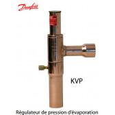 Régulateur de pression d'évaporation KVP de Danfoss