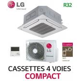 LG Cassette 4 voies COMPACT UT30F.NB0 - UUB1.U20