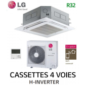 LG Cassette 4 voies H-INVERTER UT30FH.NA0 - UUC1.U40