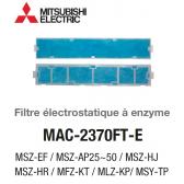 Filtre électrostatique à enzyme MAC-2370FT-E