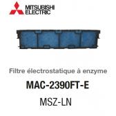 Filtre électrostatique à enzyme MAC-2390FT-E