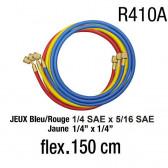 Jeux de flexibles SSG-R410-360 - 150 cm R410A
