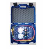 Coffret Manomètres pour R-410A et flexibles