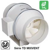 Ventilateur de conduit TD-MIXVENT - TD-350/125 de S&P