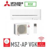 Mitsubishi MURAL INVERTER modèle MSZ-AP25VGK