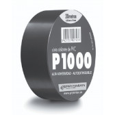 Ruban blanc pour isolation éléctrique en PVC 20 m X 19 mm X 0.13 mm epaisseur