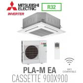 Mitsubishi CASSETTE 4 VOIES 900X900 modèle PLSZ-M140EA monophasé