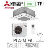 Mitsubishi CASSETTE 4 VOIES 900X900 modèle PLSZ-M125EA triphasé