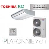 Toshiba Plafonnier CTP Super Digital Inverter RAV-RM1401CTP-E monophasé