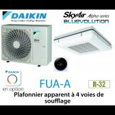 Daikin Plafonnier apparent à 4 voies de soufflage Alpha FUA125A monophasé