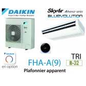 Daikin Plafonnier apparent Advance FHA125A triphasé
