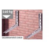 Support galvanisé à chaud pour unité exterieure jusqu'à 140 kg