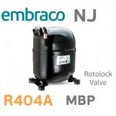 Compresseur Aspera – Embraco NJ9238GK - AVEC VANNE- R404A, R449A, R407A, R452A