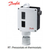 Pressostats et thermostats RT de Danfoss