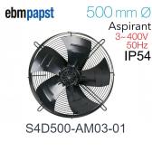 Ventilateur hélicoïde S4D500-AM03-01 de EBM-PAPST