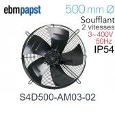 Ventilateur hélicoïde S4D500-AM03-02 de EBM-PAPST