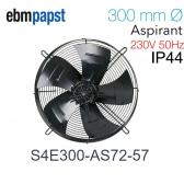 Ventilateur hélicoïde S4E300-AS72-57 de EBM-PAPST