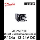 Compresseur Danfoss / Secop BD35F - R134A, 12-24V DC, avec MODULE
