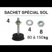 Kit de 4 Amortisseurs pour sol SG-60