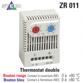 Thermostat double ZR 011 de Stego