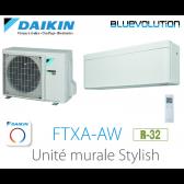 Daikin Stylish FTXA25AW - R-32 - WIFI inclus