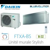 Daikin Stylish FTXA35BS - R-32 - WIFI inclus