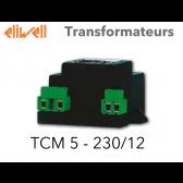 Transformateur TCM 5 - 230/12 de Eliwell