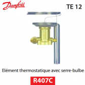 Elément thermostatique TEZ 12 - 067B3366 - R407C Danfoss