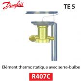 Elément thermostatique TEZ 5 - 067B3278 - R407C Danfoss